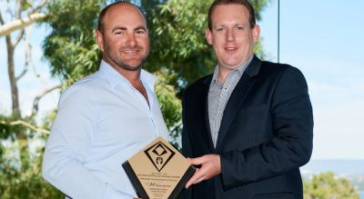 Regional builder recognised at state level