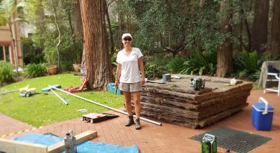 Narelle Warren - Brushwood Fencing