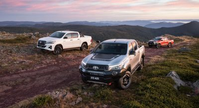 New HiLux models focus on off-road action and urban style
