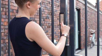 SlimStone : the very strong, fully weatherproof and frost-free keypad
