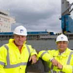 Landmark steel shipment travels from Australia to Wales