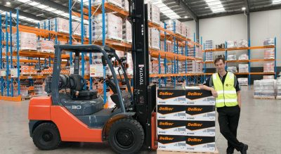 Expanding battery Co equips with Toyota Material Handling