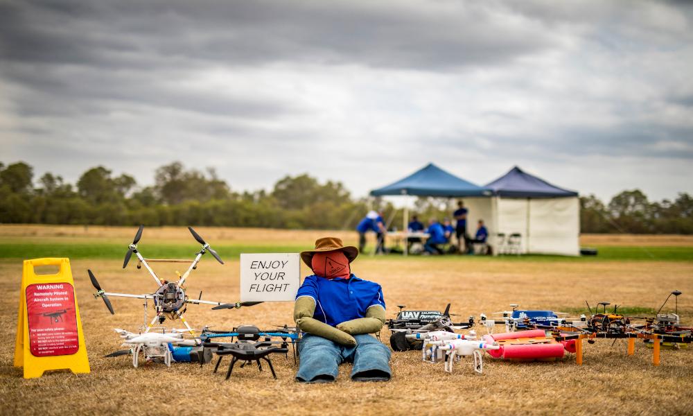 UAV Outback Challenge Credit: QUT