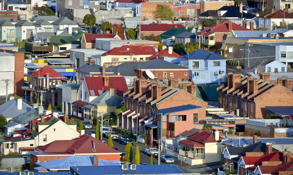 tasmania housing stock