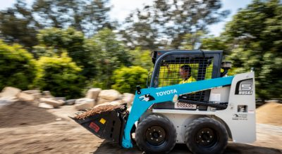 Toyota Huski cuts landscaper's labour costs