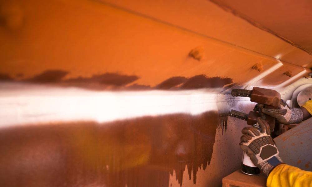welder stock image