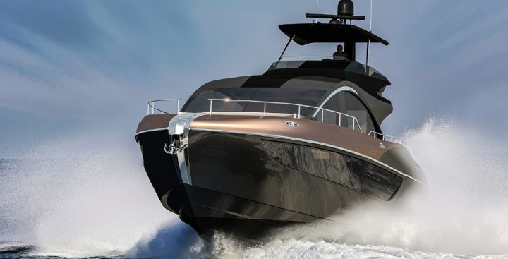 First yacht for Lexus
