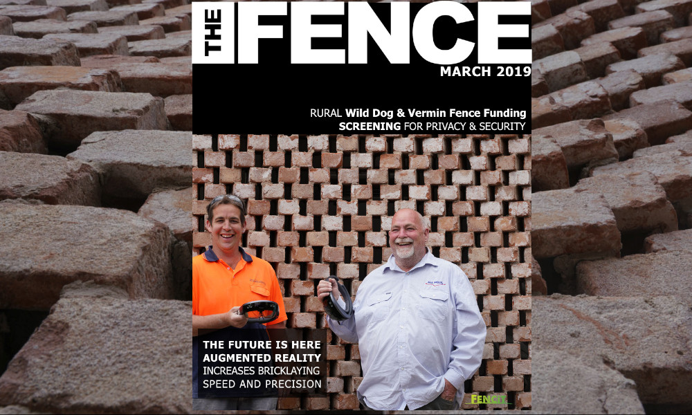 the fence march 2019 cover