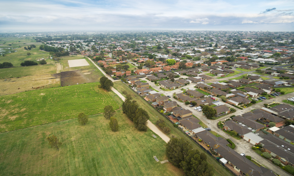 victoria housing stock image