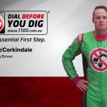 Jon McCorkindale V8 racing driver and DBYD certified locator
