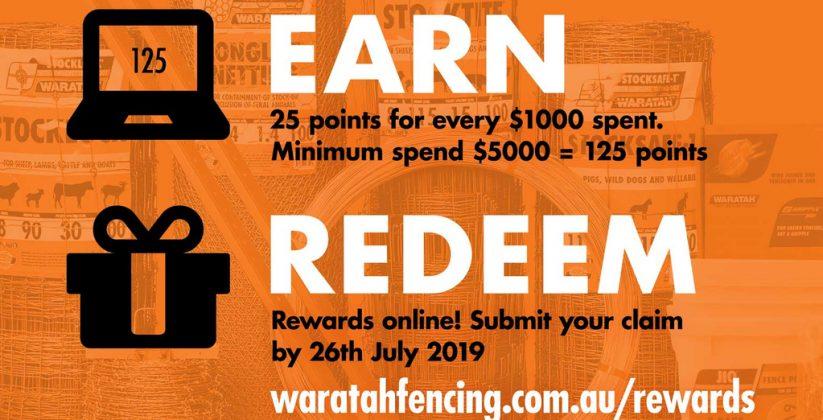 Waratah Fencing Rewards