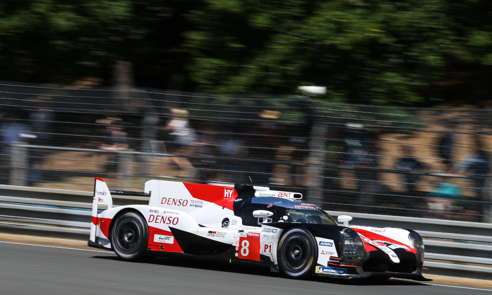 TOYOTA GAZOO Racing. World Endurance Championship. Le Mans Test 31st May - 2nd June 2019 Le Mans, France